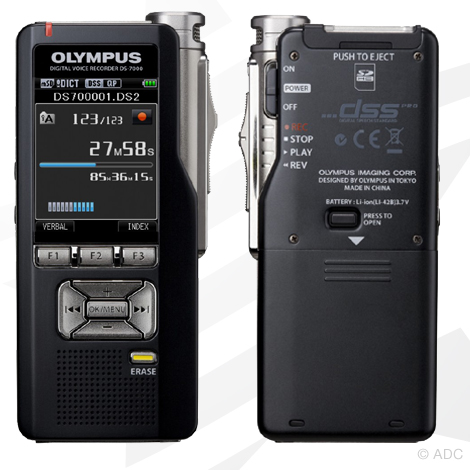 Olympus ds 7000 professional digital dictation device