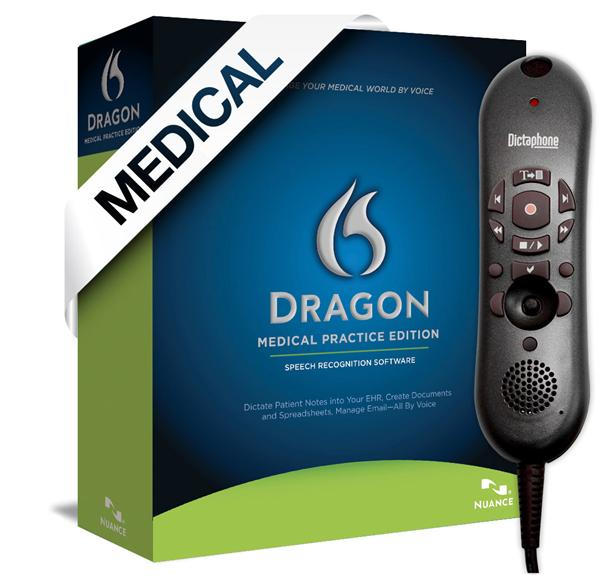 Dragon Medical Practice Edition V11 with USB PowerMic II Microphone