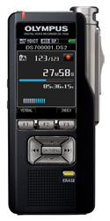 olympus ds7000 digital voice recorder with slide switch and LCD screen